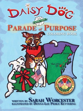 COLORING BOOK: Daisy Dog and the Parade of Purpose